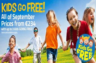 Take advantage of a Kids Go Free September break with Trabolgan Holiday Village County Cork from 234