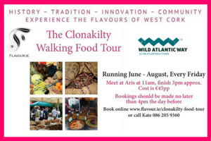 Have a taste of Ireland on the Clonakilty Walking Food Tour for 45 pp