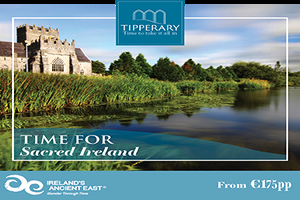 Reconnect and explore County Tipperary in the heart of Irelands Ancient East with the Sacred Ireland offer from 175 pp