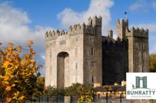 Traditional Irish evening at Bunratty Castle