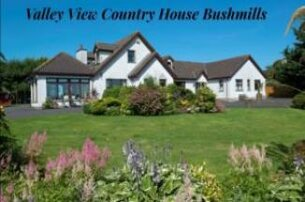 Bushmills 2 nights winter getaway with Valley View Country House for 160 for 2 people sharing