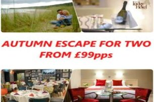 Autumn Escape For Two with the Lodge Hotel Co LDerry from 99 pps