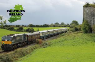 8-Days Emerald Isle Express. Exclusive rail - land in private heritage train with nights in Ashford Castle and 5-Star Hotels