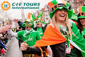 Join us for a 6day guided tour with the parade as the highlight On March 17 were hosting an unpreced