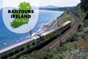 4daynight hosted rail tour to Cork Blarney Castle the Ring of Kerry the Cliffs of Moher  Connemara f