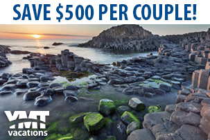 Save $500 per couple on a 12-Day Escorted Tour of Ireland