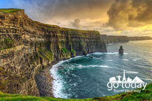 5night Irish Adventure w Flights Rental Car  Hotel