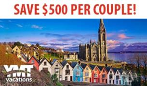 12Day Fully Escorted tour Experience Ireland from only 1499