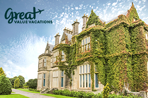 6 7 or 8Nights from 1406 castles and countryside includes air daily breakfast hotel  car