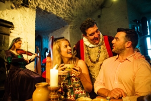 Bunratty Castle Medieval Banquet Experience the magic of a medieval banquet in one of Irelands most