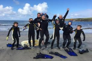 Discover Scuba Diving On The Spectacular WILD ATLANTIC WAY with Dive Academy  Scuba Diving School Co