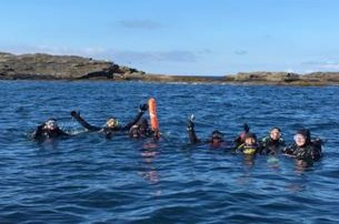 Scuba Diving Trips on The Wild Atlantic Way with FREE Sauna  Jacuzzi after Dives with Dive Academy
