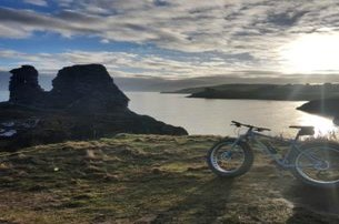 Fatbike Irelands Ancient East with Fatbike Adventures in spectacular Co Wicklow from only 65 pp
