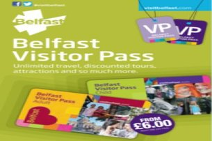 Belfast Visitor Travel Pass  enjoy unlimited travel and discounts on major attractions Just 6 pp