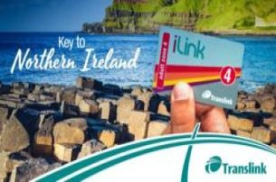 iLink Travel Card  Unlimited day travel on Translink bus and rail services across Northern Ireland F