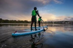 Far and Wilds 2 hour City Paddle Board tour DerryLondonderry from 30 per person
