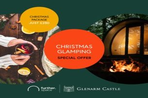 Experience Christmas Glamping at Glenarm Castle Co Antrim for 250 per pod 2 adults  2 kids