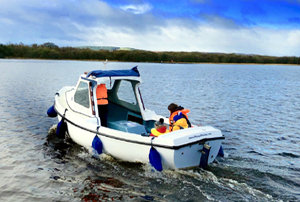 Experience time on the water with Day Boat Hire on Lough Erne with Manor House Marine  Cottages from