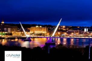 Enjoy a 2 night BB 1 Dinner St Patricks Break at City Hotel DerryLondonderry from 105 pp based on 2