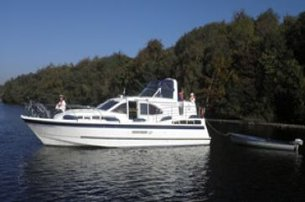 Be the Captain of the ship with an Easter Special cruise with Manor House Marine Co Fermanagh for 99