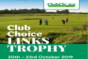 3 Nights at the Club Choice Ireland Links Trophy Event in Co Wexford from 230 pps