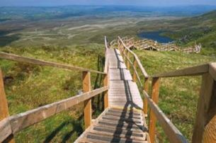 Embark on a walk to the sky with Your Stairway to Heaven and a Megalithic Playground are Calling wit