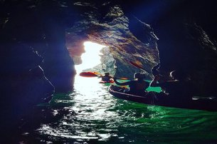 Enjoy a Sea Cave Kayaking Experience for Two with The Irish Experience Co Wexford for 9999 double ka