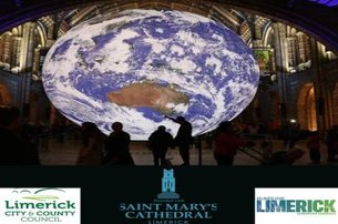 Gaia a touring artwork by Luke Jerram in Saint Marys Cathedral Limerick for only 1 per adult childre