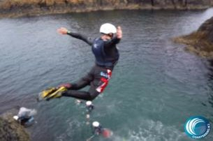 Have a wonderful Coasteering Adventure at Ballintoy Co Antrim for 45pp