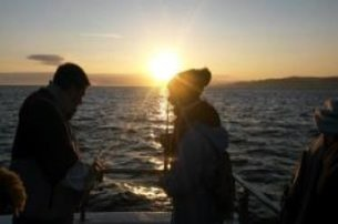 Catch and Sea sunrise breakfast seafishing trip from Portrush Harbour  with Causeway Coast Foodie To
