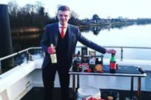 Enjoy a treat with a Dram on the Bann exclusive whiskey  gin tastings departing from Coleraine Marin