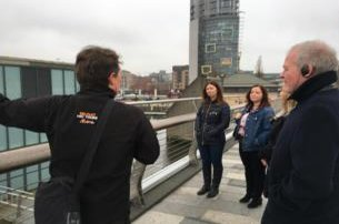 Enjoy a guided Belfast Walking Tour with MicnWalk 2hour tour from just 15 pp