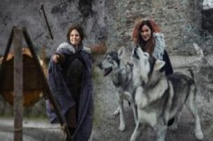 Meet the reallife Direwolf Dogs at Winterfell Castle  try Axe Throwing from just 118pp