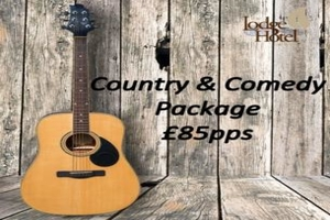 North Coast Country  Comedy Entertainment Package at the Lodge Hotel in Coleraine from 85 pps