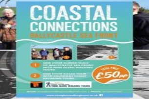 Enjoy a Kayaking  Walking Tour with Causeway Coast Kayaking Tours for 50 pp