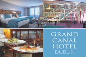 Dine and Unwind Grand Canal Style at the Grand Canal Hotel in Dublin with our AllInclusive Theatre P