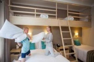 Family Half Board Package 2 nights BB with dinner from our special menu with The Lodge Hotel Co LDer