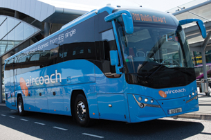 Save money with an Aircoach Transfer from Dublin Airport to Dublin City from only 6