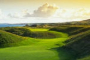 Tee off with an East Coast Ireland Ultimate Links Vacation with Chaka Travel Belfast from 1699 pp