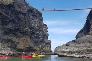 10 off 2 Hour Guided Kayaking Tour to CarrickaReed Rope Bridge With Causeway Coast Kayaking Tours Co