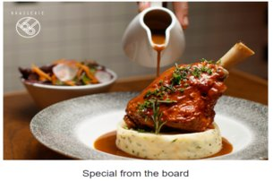 Receive a complimentary gift to welcome you to Ireland when you dine at Brasserie Sixty6 Restaurant