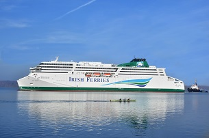 Vers lIrlande avec Irish Ferries