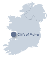Irland Cliffs Of Moher Karte.The Cliffs Of Moher Ireland Com