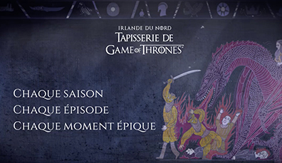 Application Tapisserie Game of Thrones®