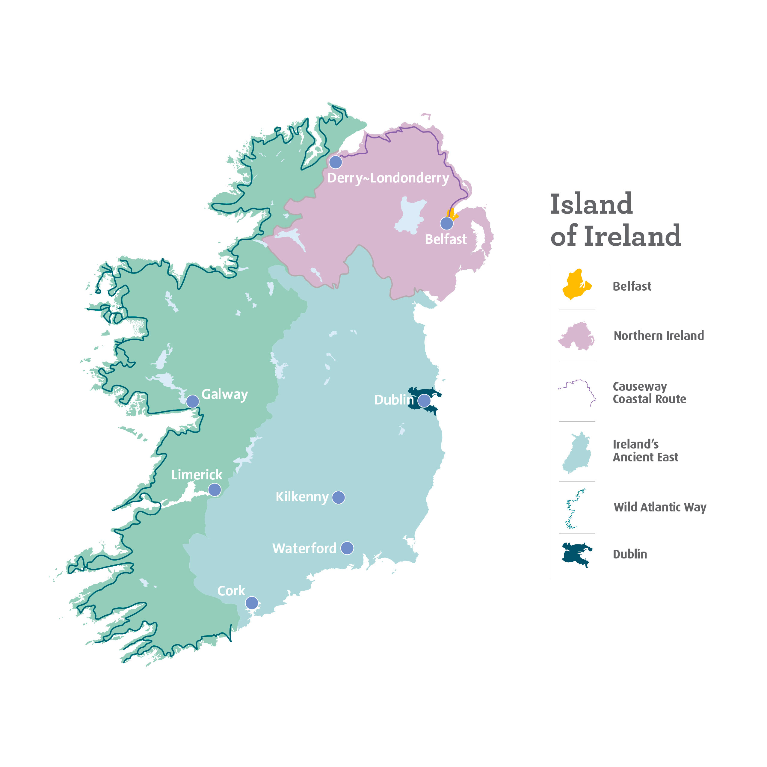 Map Of Ireland Islands.The Island Of Ireland Ireland Com