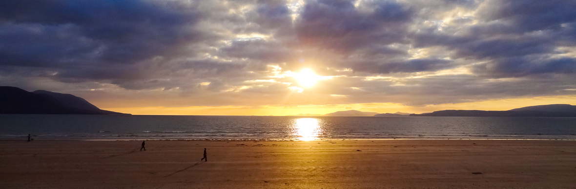 Sunset at Rossbeigh Beach