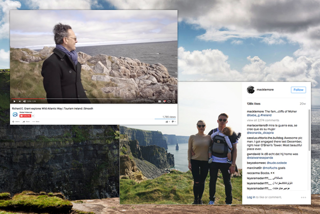 Richard E Grant and Macklemore on the Wild Atlantic Way