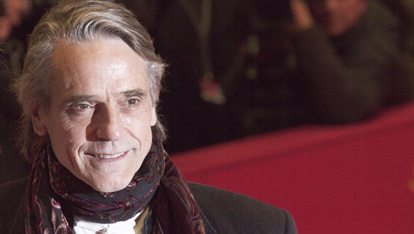 Borgias star Jeremy Irons