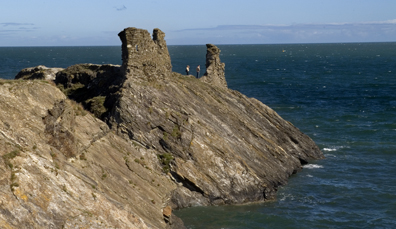 3. Black Castle in county Wicklow