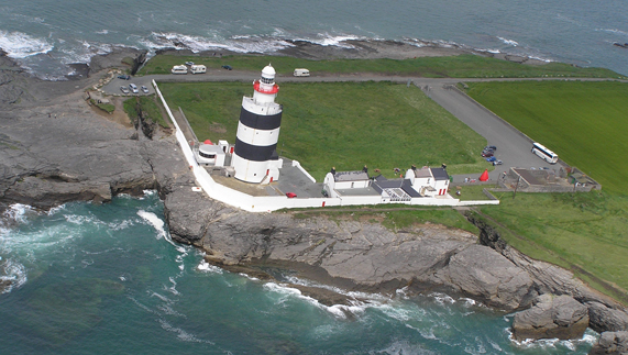 Lighthouses In Ireland Map.Ireland S Lighthouses Part 1 Ireland Com